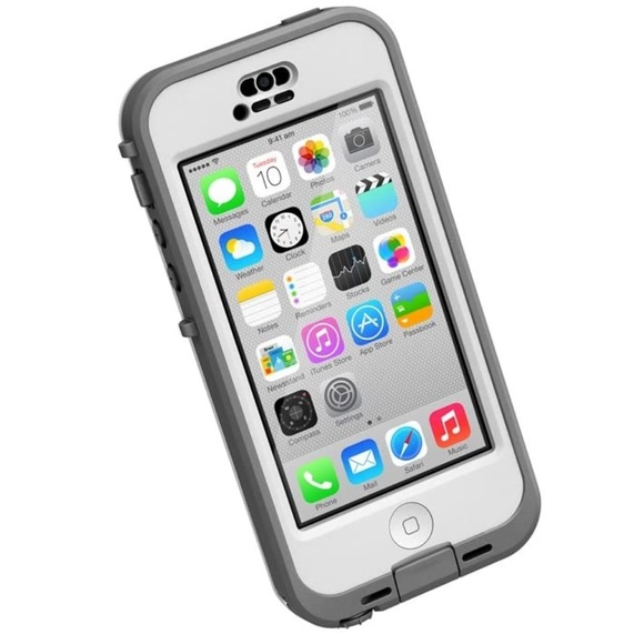 Lifeproof Nuud iPhone 5c Case in Gray & White